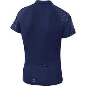 Löffler Rise Half-Zip Bike Shirt Women plum
